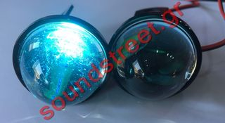 Led Strobo Λευκό/Μπλε φως 3,7 εκατοστά.....Sound☆Street.....