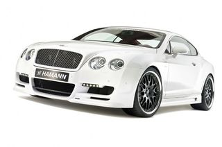 Hamann front bumper with 2 LED daytime running lights Bentley Continental GT/GT Speed