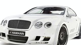 Hamann front bumper Evo with 4 LED daytime running lights Bentley Continental GT/GT Speed