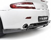 Hamann rear diffuser 3-piece carbon matt Aston Martin Vantage