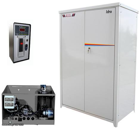 Μηχάνημα μηχανήματα καθαρισμού '10 Axel IDRO R HOT 110-200