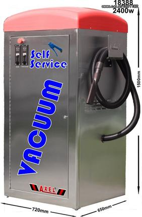 Μηχάνημα μηχανήματα καθαρισμού '10 Σκούπα-αέρας self service 2400