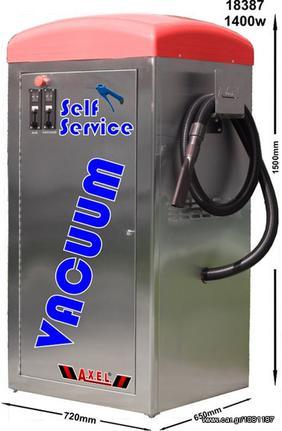 Μηχάνημα μηχανήματα καθαρισμού '10 Σκούπα-αέρας self service 1400