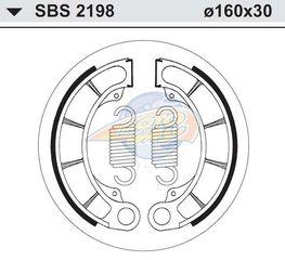 ΣΙΑΓΩΝΕΣ SBS 2198/H351 FORESIGHT250/FES-PANTHEON125/150