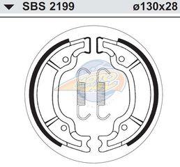 ΣΙΑΓΩΝΕΣ SBS 2199 MAJESTY125/180,XV250DRAGSTAR