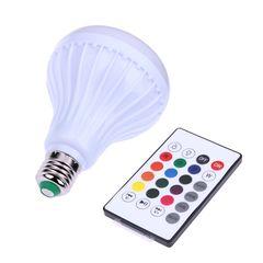 Λάμπα E27 PAR30 12 Watt Bluetooth με Ηχείο και Ασύρματο Χειριστήριο RGB