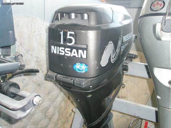Σκάφος κινητήρες - μηχανές '03 NISSAN 15 HP.