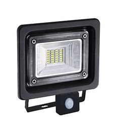 Dio LED Προβολέας Με Αισθητήρα SMD 10W - Θερμό Λευκό (3000Κ) - LINUS1030S