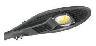 VK LED Φωτιστικό Δρόμου 80W COB IP65 - Φυσικό Λευκό (4000Κ) - 64174-418622