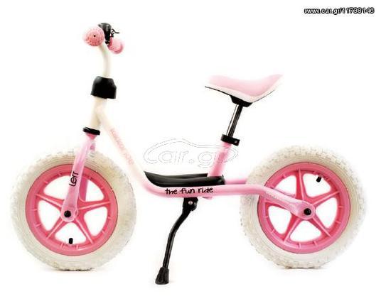 "Kink BMX '20  Παιδικό ποδηλατάκι 12"" ισορροπίας Lerr White/Pink, 3807000132161"