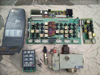 Ηλεκτρονικες Πλακετες και Ανταλλακτικα  για χωματουργικα Μηχανηματα Q&K, ATLAS, NEUSON, Original και μεταχειρισμενα