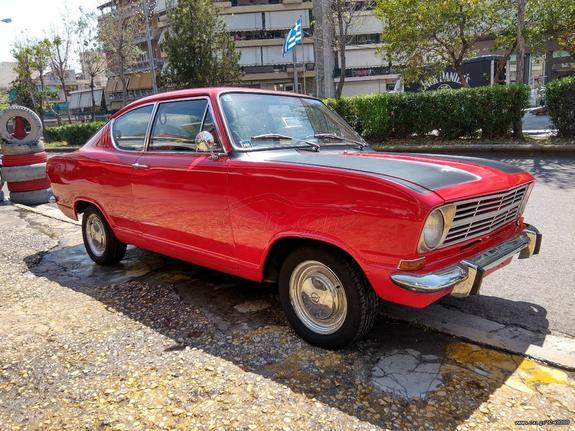 Opel Kadett '67 KIEMEN COUPE