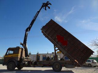Μηχάνημα μηχανήματα ανακύκλωσης '85 MERCEDES 1626 - ΣΚΡΑΠΑΤΖΙΔΙΚΟ