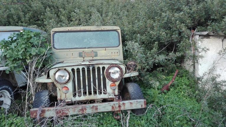 Jeep Willys 1951 M38 CJ3A και CJ2A