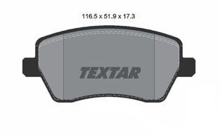 TEXTAR ΔΙΣΚΟΦΡΕΝΑ/ΤΑΚΑΚΙΑ ΝΙSSAN MICRA K12, NOTE/ SUZUKI SWIFT '05~'11/ RENAULT CLIO III/IV, OPEL AGILA