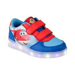 Αθλητικά Παιδικά Παπούτσια με φωτάκια LED GlowFlow Car.gr