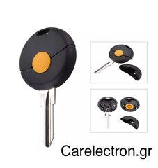 Κέλυφος Τηλεχειριστηρίου με Λεπίδα (1 κουμπί) Smart Fortwo
