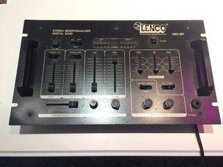 Μεικτής Lenco stereo mixed equalizer digital echo