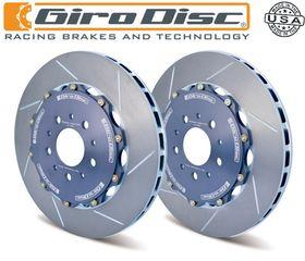 GiroDisc εμπρός πλευστοί/χαρακτοί δίσκοι για Nissan GT-R