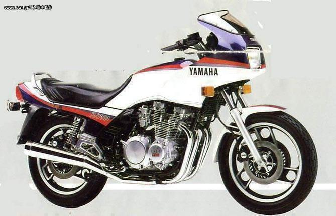 Yamaha XJ 750 '83 ΑΝΤΑΛΛΑΚΤΙΚΑ (SPARE PARTS)