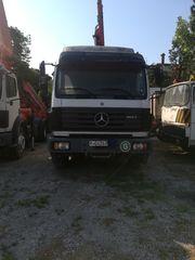 Mercedes-Benz '00 1824 με γερανο και 6 μ καροτσα