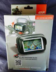 GIVI CASE + Βάση 12 VOLT USB Τιμόνι !