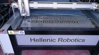 CNC Plasma Metal Cutting Machine 100A HRP-1325 Vacuum