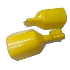 Χούφτες μοτοσυκλέτας κίτρινες