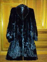 Παλτό απο φυσική γούνα ΒΙΖΟΝ. Δωρεάν μεταφορικά.