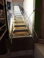 Πτυσσομενη αναδιπλουμενη σκαλα οροφης απο αλουμινιο