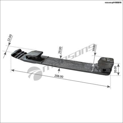 Kλίπ Λασπωτήρα IVECO [Τιμή με ΦΠΑ]