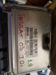 Εγκέφαλος VW Passat 1.9TDI 0281010941 038906019GQ