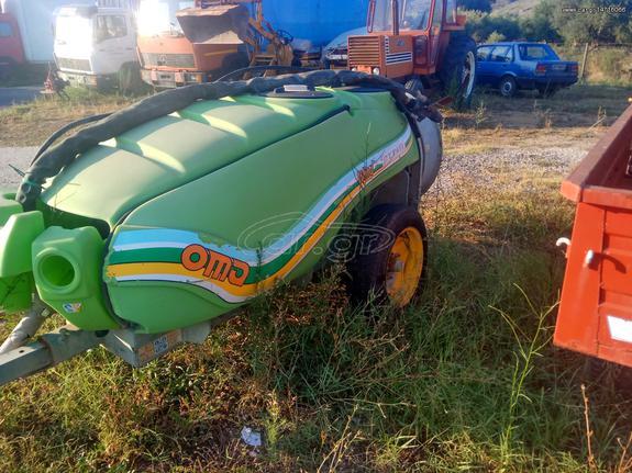Γεωργικό τουρμπίνες - νεφελοψεκαστήρες '05 Ιταλικό 1200L