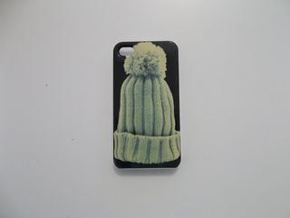 Θήκη apple iphone 4 με σχέδιο σκουφάκι