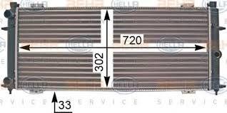 ΨΥΓΕΙΟ ΝΕΡΟΥ TRANSPORTER T4  - ΔΙΑΣΤΑΣΕΙΣ  720Χ302Χ34