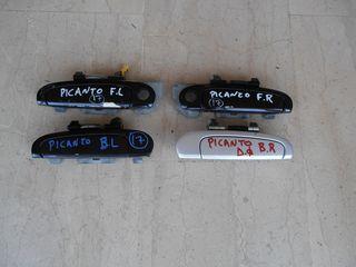 Χερούλια εξωτερικά και εσωτερικά Kia Picanto 2003-2008