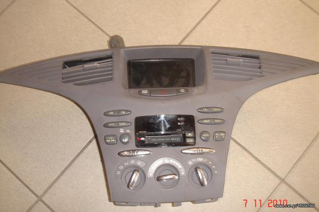 TOYOTA PRIUS GPS RADIOCD