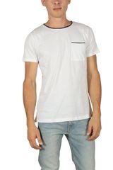 French Kick Line ανδρικό t-shirt λευκό - fkm1-2113