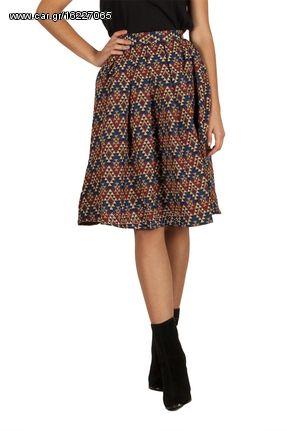 Migle + me Aztec φούστα με πιέτες - la-222ge