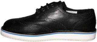 Wesc Brogue Blucher δερμάτινο παπούτσι μαύρο - 151we-00519
