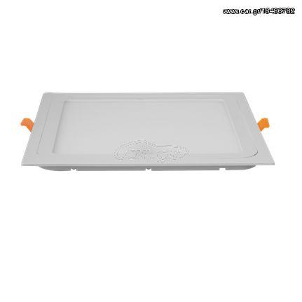 Heda Τετράγωνο LED Panel 18W - Ψυχρό Λευκό (6500Κ) - HDW18SC