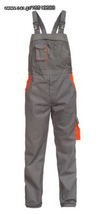 F&T SIGMA O613M Ολόσωμη Φόρμα Εργασίας Με Τιράντες (M)