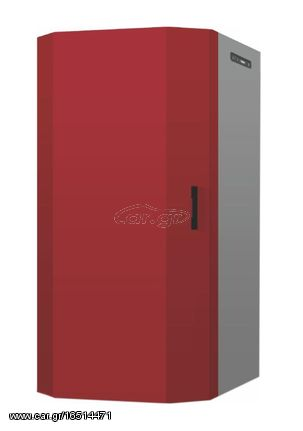 Tepor BOILER-20 Ατσάλινη Σόμπα Νερού Κλειστού Τύπου Pellet 20KW (61x78.6x124cm)