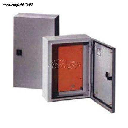 Μεταλλικός πίνακας JXF1-2525/14 διαστάσεων 140 x 250 x 250 mm με στεγανότητα IP55 | 03.044.0034