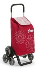 Gimi TRIS-RED Καρότσι Λαϊκής Αγοράς Χωρητικότητας 56lt (Αντοχή Έως 30kg)
