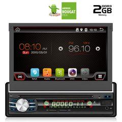 """ΟΘΟΝΗ ANDROID 1 DIN 7"""" DIGITAL IQ ΜΕ BLUETOOTH GPS ΚΑΙ ΜΗΧΑΝΙΣΜΟ DVD AN7600GPS....Sound☆Street...."""