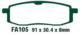 TT 250 1990 ΤΑΚΑΚΙΑ ΦΡΕΝΟΥ ΕΜΠΡΟΣ