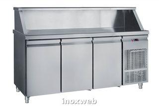V-51 Ψυγείο Μπαρ Συντήρηση Με 3 Πόρτες 185X70X118