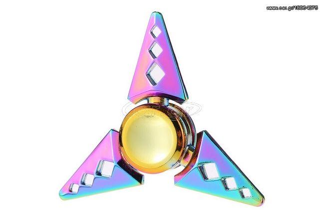 Τηλεκατευθυνόμενο αλλο '21 Fidget Toys Anti-Anxiety 360 Tri Triangle Focusing EDC Toy Focu