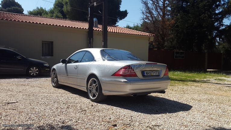 Mercedes-Benz CL 500 '05 Face lift